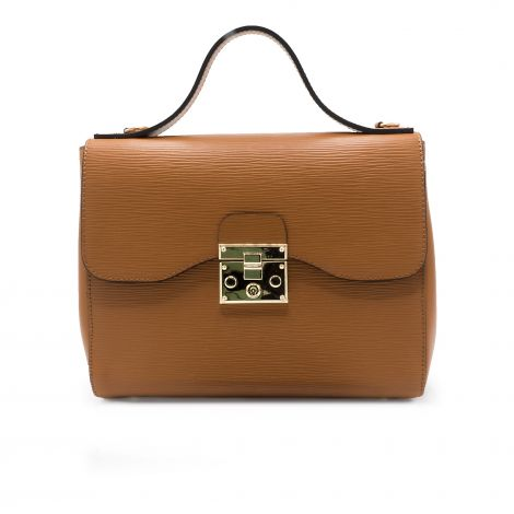 Lestere Calabria Cognac Top Handle Handbag