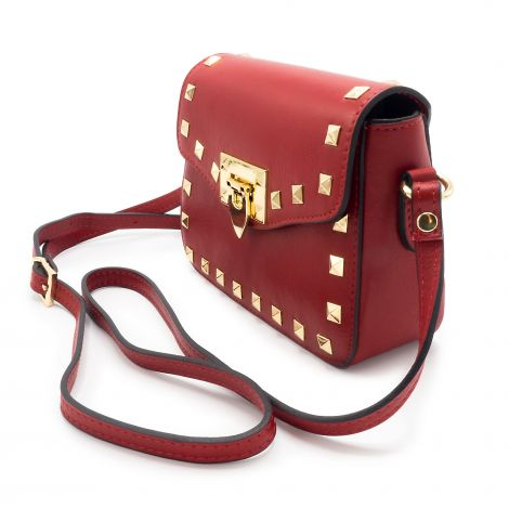 Lestere Abruzzo Bordeaux Red Crossbody
